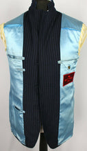 Load image into Gallery viewer, ETRO Blazer Jacket Blue Pinstripe Wool 40R EXCEPTIONAL RRP £900 3351