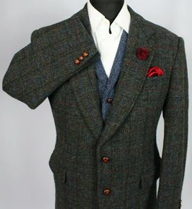 Harris Tweed Jacket Blazer 42S FANTASTIC COLOUR TWEED 3458