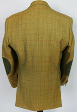 Load image into Gallery viewer, Burberry Blazer Jacket Brown Windowpane Check 42R AMAZING QUALITY 3760