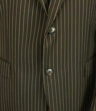 Load image into Gallery viewer, Brown Lightweight Blazer Tommy Hilfiger Pinstripe 42R SUPERB QUALITY 3002