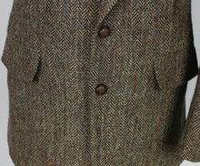 Load image into Gallery viewer, Harris Tweed Blazer Jacket Brown 38S SUPERB QUALITY 3698