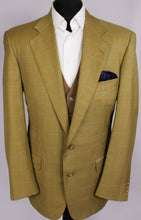 Load image into Gallery viewer, Trussardi Blazer Jacket Brown Check 40R EXCEPTIONAL ITEM 3430