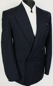 Missoni Blazer Jacket Navy Blue Double Breasted Wool 38R SUPERB QUALITY 3946