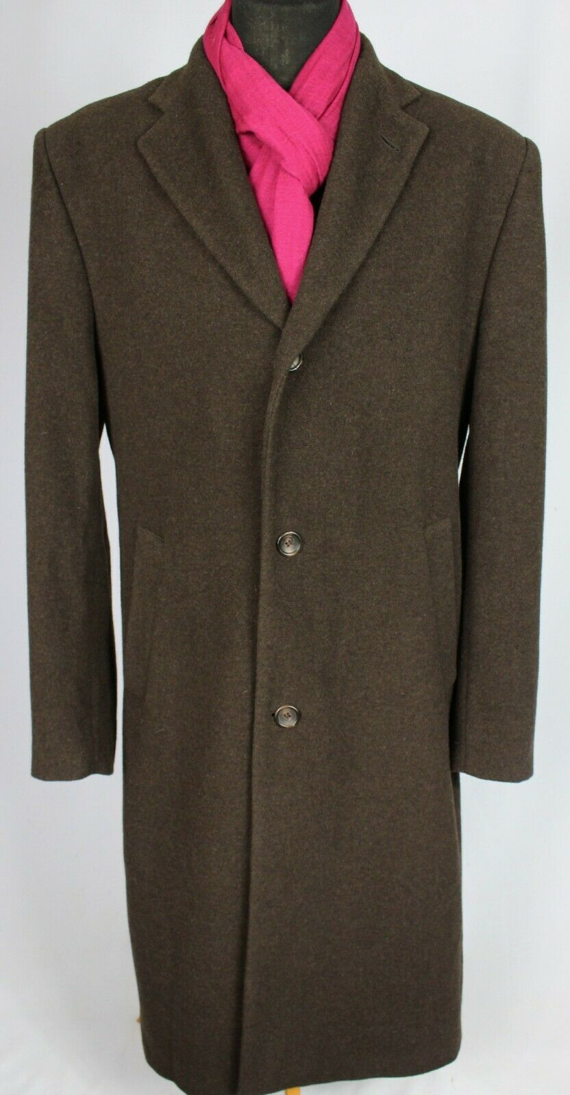 Brown Coat Paul R Smith Wool & Cashmere 46R FANTASTIC QUALITY 3469