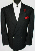 Load image into Gallery viewer, Yves Saint Laurent Summer Blazer Jacket Black 42R PURE SILK 3183