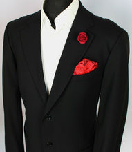 Load image into Gallery viewer, Armani Jacket Blazer Black Designer 44R EXCEPTIONAL ITEM 3735