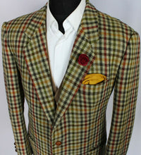 Load image into Gallery viewer, Tweed Blazer Jacket Hugo Boss 42S AMAZING COLOUR FABRIC 3729