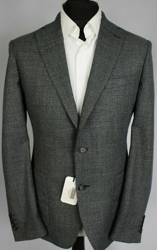 Hardy Amies Savile Row Grey Blazer Jacket Heddon Fit 38R RRP £350 #3693
