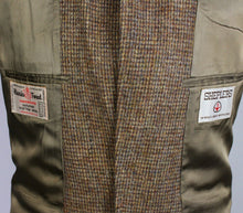 Load image into Gallery viewer, Harris Tweed Jacket Brown American Western Style 38L EXTREMELY RARE 3429