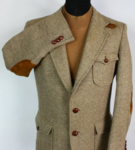 Load image into Gallery viewer, Norfolk Tweed Blazer Jacket Brown Shooting Hunting 40R RARE VINTAGE TWEED 3924
