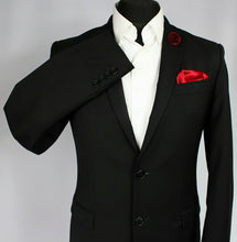 Load image into Gallery viewer, Versace Blazer Jacket Black 36R FANTASTIC GARMENT 3026