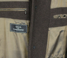 Load image into Gallery viewer, Brown Coat Paul R Smith Wool & Cashmere 46R FANTASTIC QUALITY 3469