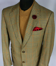 Load image into Gallery viewer, Burberry Blazer Jacket Brown Lightweight Wool 40R AMAZING QUALITY 3161