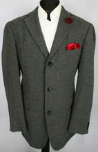 Load image into Gallery viewer, BOSS Blazer Jacket Grey Designer 46L SUPERB QUALITY 3646