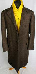 Brown Loro Piana Coat Overcoat Merino Wool 44R EXCEPTIONAL GARMENT 3683