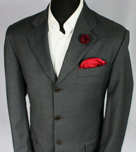 Load image into Gallery viewer, FERRE Blazer Jacket Grey Lightweight 40R WONDERFUL QUALITY 3225