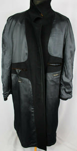 Cashmere Coat Black 50R FANTASTIC QUALITY 2833