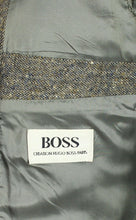 Load image into Gallery viewer, Tweed Hugo Boss Blazer Jacket Grey Lightweight 36R SUPERB QUALITY 3139