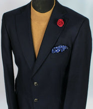 Load image into Gallery viewer, Blue Blazer Jacket Tommy Hilfiger Wool Cashmere 42R SUPERB QUALITY 3745