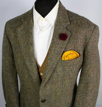 Load image into Gallery viewer, Harris Tweed Blazer Jacket Wedding Country Horse Races 42XS SUPERB COLOURS 1408