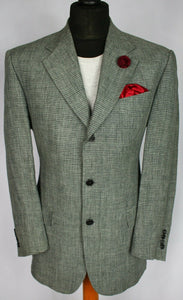 Ferre Linen Jacket Blazer Grey Designer 40R SUPERB QUALITY 3242