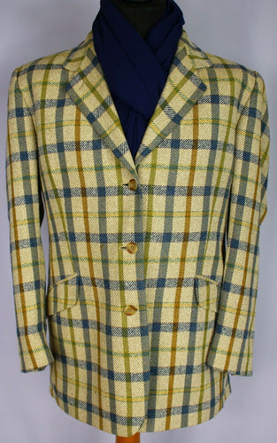 DAKS Signature Jacket Blazer Pure Silk UK 18 BEAUTIFUL JACKET 3233