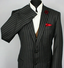 Load image into Gallery viewer, Jacket Blazer Tommy Hilfiger Charcoal Lightweight 100% Wool 42L
