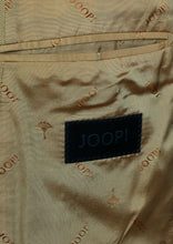 Load image into Gallery viewer, Joop Summer Jacket Blazer Tan Check Designer 40R Wool & Silk 2313