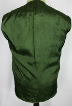 Load image into Gallery viewer, Green Jacket Blazer Brooksfield 40R WOOL & CASHMERE ITALIAN MADE 3528