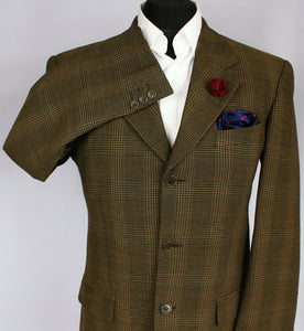 Valentino Blazer Jacket Brown Lightweight 40R SUPERB 3248