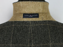 Load image into Gallery viewer, Tweed Jacket Blazer Grey Tommy Hilfiger 40R WOOL & CASHMERE 3776