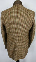Load image into Gallery viewer, Harris Tweed Jacket Blazer Brown Check 42R SUPERB QUALITY 3600