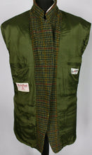 Load image into Gallery viewer, Harris Tweed Blazer Jacket Green Paul R Smith 46R AMAZING VIBRANT COLOURS 3337