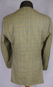 Burberry Blazer Jacket Lightweight Wool & Silk 40R AMAZING QUALITY 3232