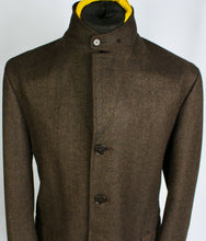 Load image into Gallery viewer, Brown Loro Piana Coat Overcoat Merino Wool 44R EXCEPTIONAL GARMENT 3683