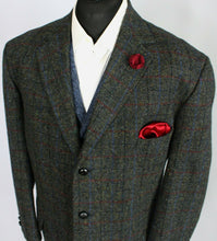 Load image into Gallery viewer, Harris Tweed Blazer Jacket 50S SUPERB VIBRANT COLOURS 3503