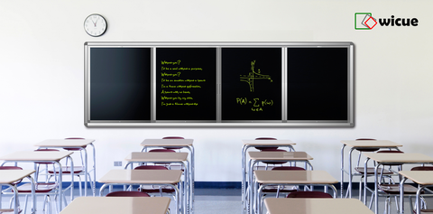 Wicue Liquid Crystal Handwriting Blackboard for Classroom 4mx1.2m
