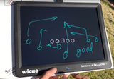Football Coaching board: Wicue Liquid Crystal Handwriting Tablet 15-inch