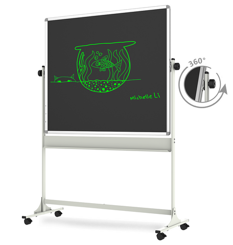 eBoard® Liquid Crystal eWriter with Whiteboard 58-inch with Mobile Stand for Office Presentation and School