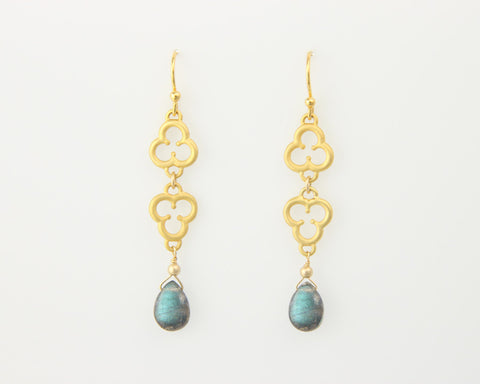 Trefoil Doublet Earrings