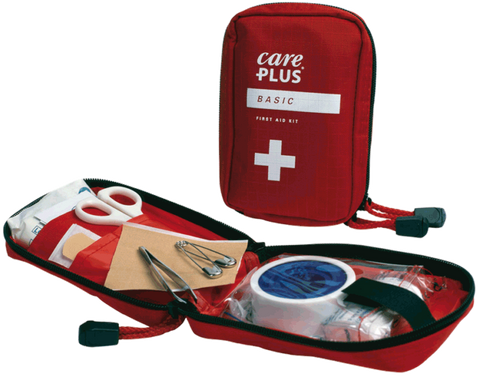 Care Plus First Aid Kit Basic - TravelSafe.at
