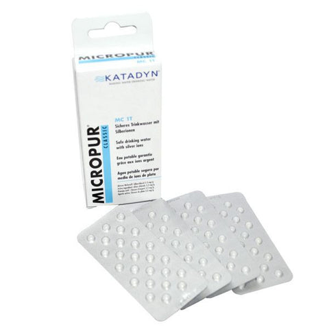 KatadynClassic Micropur 100 Tabletten - TravelSafe.at