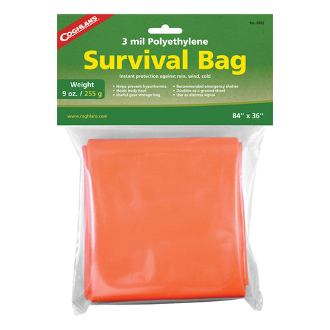 Coghlans Survival Bag - TravelSafe.at