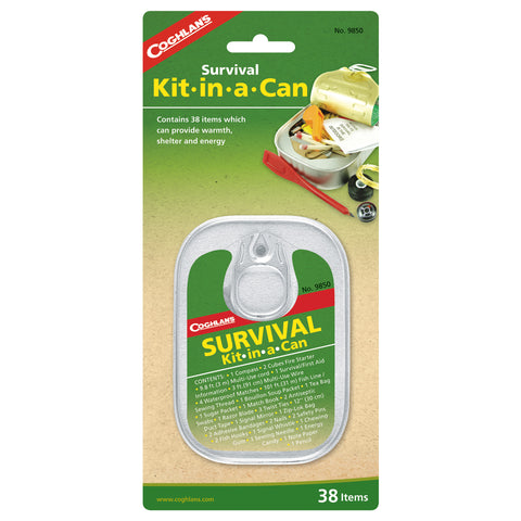Coghlan's Survival Kit in a Can - TravelSafe.at - 1