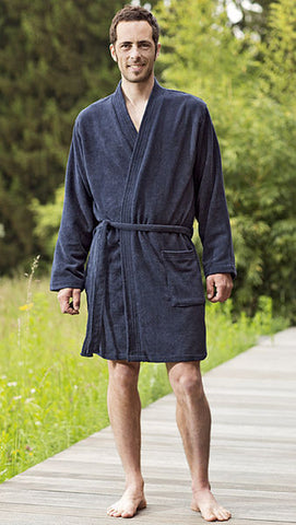 Cocoon Microfaser Terry Bathrobe - TravelSafe.at - 1