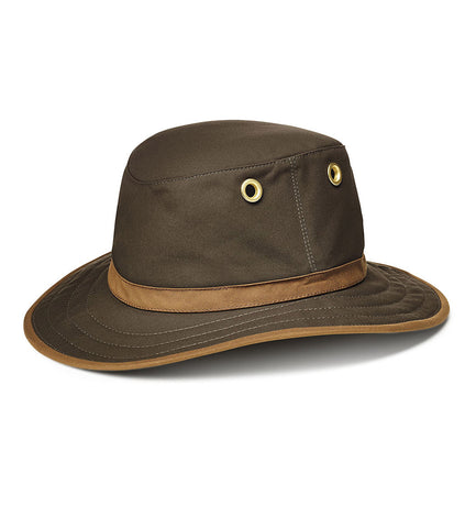 Tilley TWC7 Waxed Cotton Medium Brim - TravelSafe.at - 1