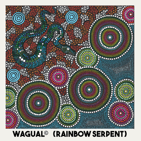 Kiya Rainbow Serpent