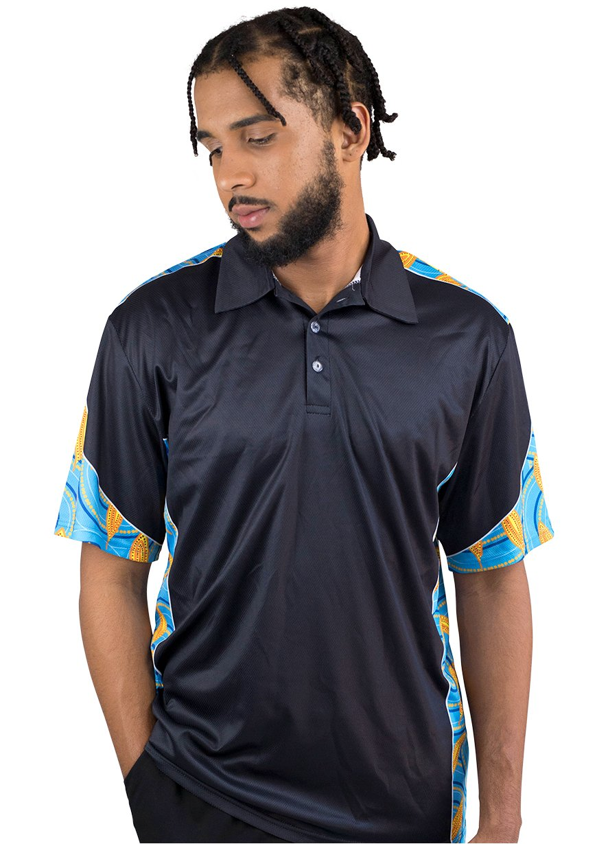 Mens Corporate Polo 23 - BW Tribal