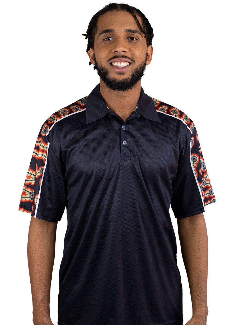 Mens Corporate Polo 22 - BW Tribal