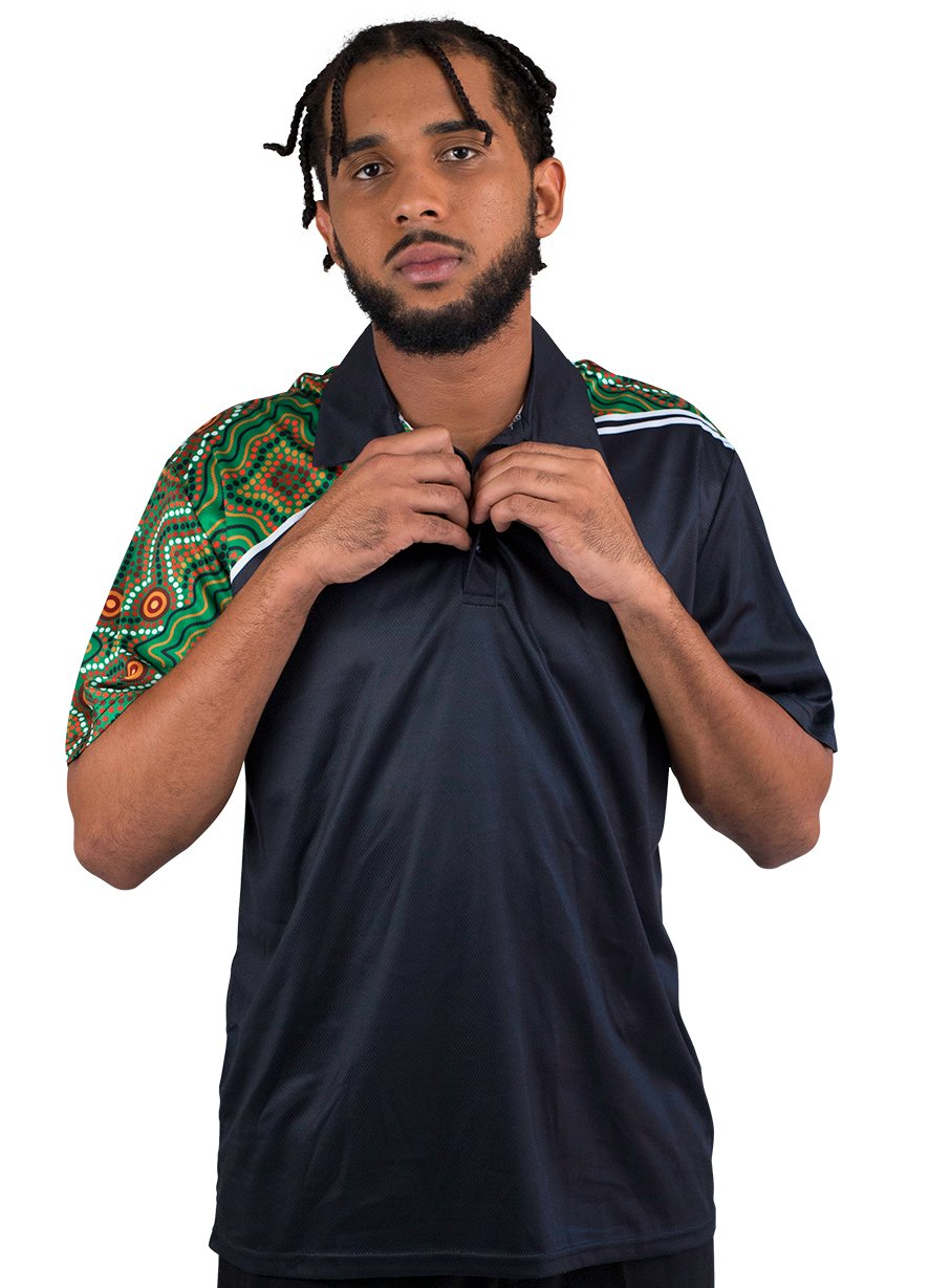 Mens Corporate Polo 26 - BW Tribal